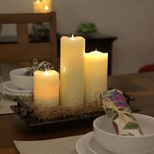 solare 3d flameless moving candles pacific accents