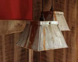 Galvanized Pendant Light Rustic Industrial Lighting Chandelier Galvanized Pipe Light