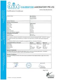 calibration report template calibration certificate template free gallery certificate design
