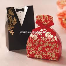 bride groom wedding favor boxes luxury bride and groom favor wedding invitation candy door gift