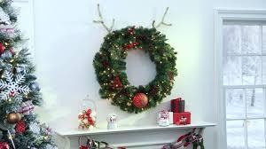 how to create a reindeer wreath martha stewart living