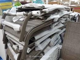 Costco Com Patio Furniture - kirkland signature commercial sling chaise lounge
