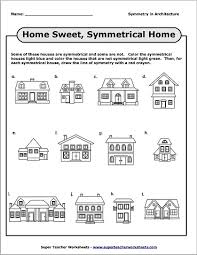 houses geometry worksheet