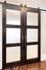Frosted Glass Sliding Barn Door by 42 Best Glass Panels Images On Pinterest Doors Sliding Doors