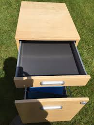 beech effect ikea galant 3 drawer filing cabinet in york north