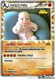 Pokemon Card Meme - kung fu baby pokemon card by themememaster24 meme center