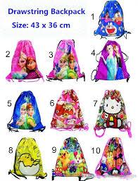 kids moana frozen doraemon lovely backpack storage bags shop bags