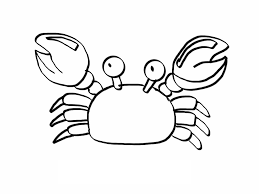 free printable crab coloring page coloring page