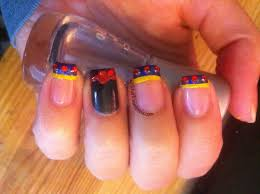 amazing crown nails spoiled and rotten nail art design tutorial