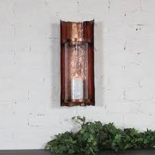 Uttermost Wall Sconces Uttermost Falconara Rust Metal Wall Sconce Free Shipping Today