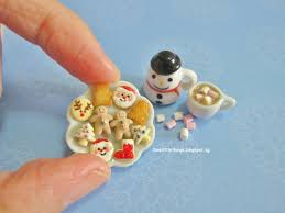 miniatures by i love little things christmas cookies and happy