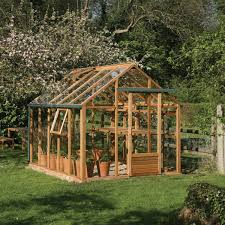 Greenhouse Gazebo Gabriel Ash Essential Cedar Greenhouse 8ft X 10ft