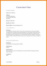 4 biodata format in word file sephora resume
