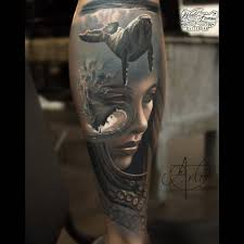 abstract ocean realism tattoo best tattoo ideas gallery