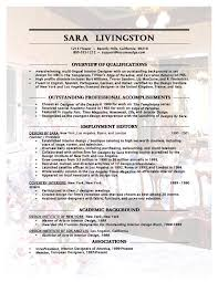 Free Job Resume Examples by Free Interior Design Resume Templates Resume Templates Interior