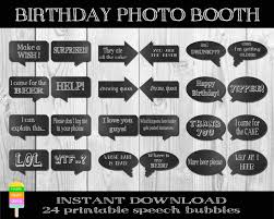 photo booth signs birthday photo booth props signs b2e29058609412bd432509dcc7c61acd