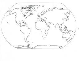 United States Map Without Labels by World Map Coloring Page 05 For The Classroom Pinterest