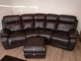 4 Seat Reclining Sofa by Leather 4 Seater Sofa And Rocker In Banbridge County Down Gumtree