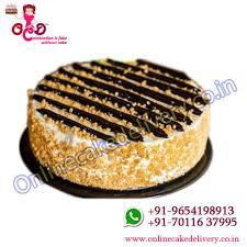 chocolate butterscotch cake get online order cake ocd cake order
