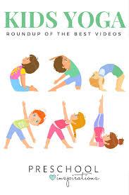 the best kid yoga videos preschool inspirations
