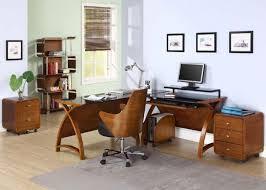Laptop Corner Desk Jual Curve Pc201 Corner Desk Package In Walnut And Black Glass