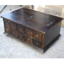 Rustic Chest Coffee Table World Rustic Trunk Coffee Table Guru Designs
