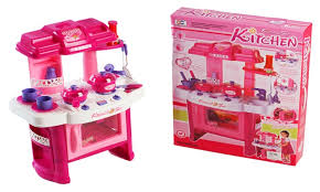 Kitchen Play Accessories - deluxe children kitchen toy cooking pretend play set with