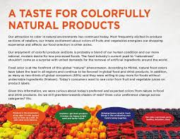 food color case study