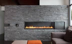 buffet table with fireplace natural stacked stone veneer fireplace stack fireplaces in decor 16