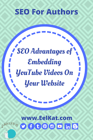 seo advantages of embedding youtube videos on your website