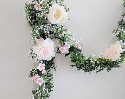 flower garland floral garland wedding garland silk flower