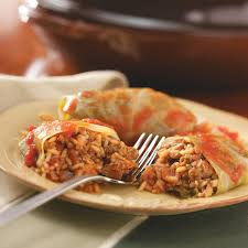 old fashioned cabbage rolls recipe taste of home