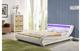 Chambre A Coucher Complete Italienne by Lit Cuir Blanc Italien