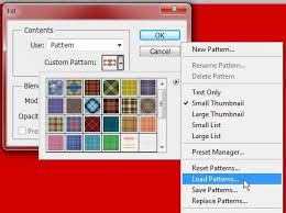 pattern from image photoshop how to add a pattern to photoshop cs5 solve your tech