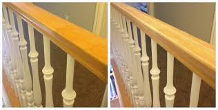 Oak Banisters And Handrails Two Points For Honesty Refinishing Oak Stair Railings