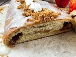 marie calendars thanksgiving apple pie sweet roll log three olives branch