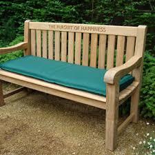 picnic tables garden 180cm bench cushion