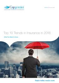 top 10 trends in insurance 2016