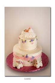 vintage looking baby shower cake cakecentral com