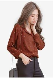 brown blouse brown blouses shirts for march 2018 in the philippines