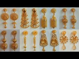 gold earring design with price gold earrings designs today fashion