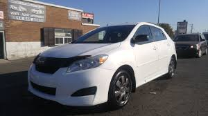 toyota awd hatchback toyota matrix 2010 automatique awd centre esthetique auto fg inc