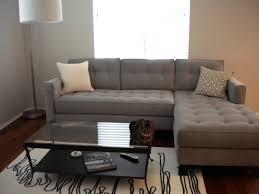 Charcoal Tufted Sofa by Buchannan Microfiber Sofa Grey Best Home Furniture Decoration