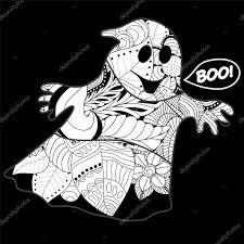 cartoon ghost halloween background vector halloween background with ghos u2014 stock vector fsafonova1