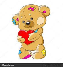 imagenes animadas oso oso de peluche de dibujos animados oso de juguete divertido un oso
