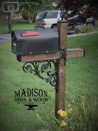best 25 farmhouse mailbox accessories ideas on rustic