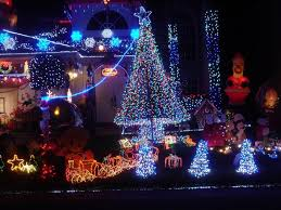 outdoor lights make the celebration more festive home