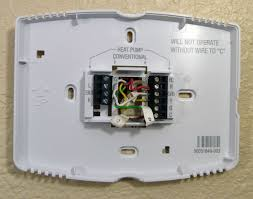 trane heat pump thermostat wiring diagram honeywell thermostat