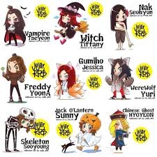 snsd halloween u0027s day fanart girls u0027 generation snsd gg