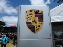 stuttgart porsche logo the all porsche concours d u0027elegance in monterey in full color